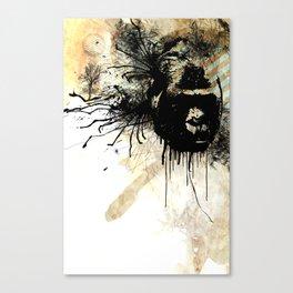 gorilla time Canvas Print