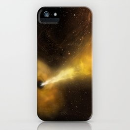 1977. Black Hole vs. Star: A Tidal Disruption Event (Artist's Concept)  iPhone Case