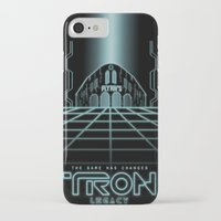 tron iPhone & iPod Cases featuring Tron Legacy by Yuri Meister