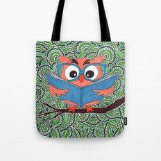 Owl Drawing Meditation Tote Bag