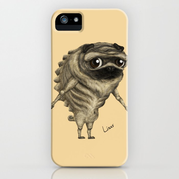 Linus, the Pug iPhone Case