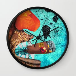 Cigar Smoker Wall Clock