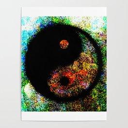 Yin Yang Multi jGibney The MUSEUM Society6 Gifts Poster