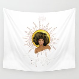 the sun (w/o boarders) Wall Tapestry
