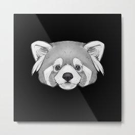 Endangered Animals - Red Panda Metal Print