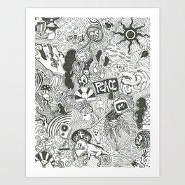 In Time, One Tells Art Print