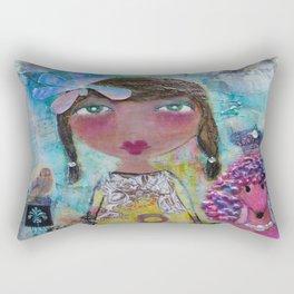 Phoebe & Poof - Whimsies of Light Children Series Rectangular Pillow