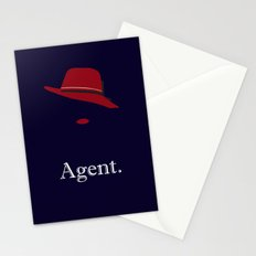 Agent Carter Stationery Cards