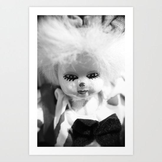 Dolls in Grandma's attic, Photo Art Print