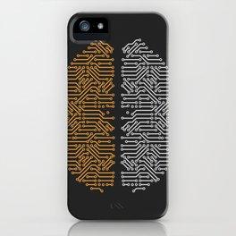 Daft Punk Tribute iPhone Case