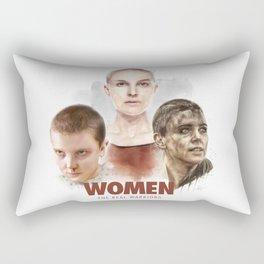 WOMEN // The Real Warriors Rectangular Pillow