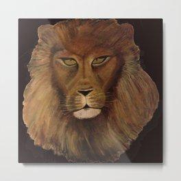 King Leo Metal Print