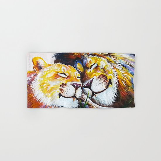 lion love Hand & Bath Towel