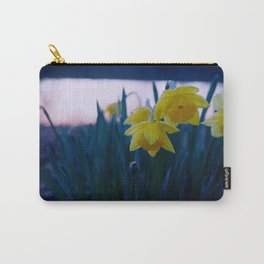 Creamy Daffodil Sunset Carry-All Pouch