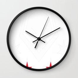 Kangaroos and Kiwis Wall Clock