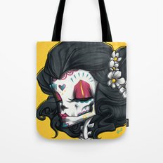 Madame Muerte PAINT Tote Bag