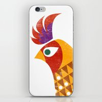 rooster iPhone & iPod Skins featuring Rooster by Jackie Sullivan
