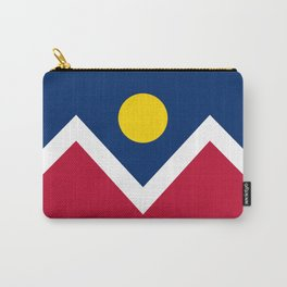 Denver City Flag - Authentic High Quality Carry-All Pouch