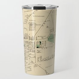 Vintage Map of Huntington NY (1873) Travel Mug