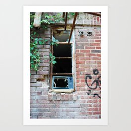 Television Windows Art Print