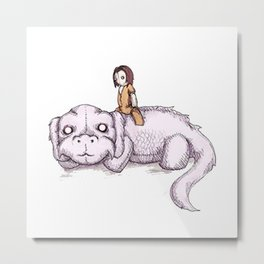 Falkor The Friendship Metal Print
