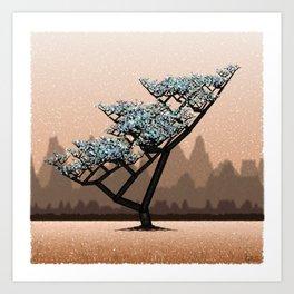 Generative Treescape 2 Art Print