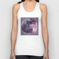 moon phases Tank Tops featuring Phases of the Moon by De(b)sign