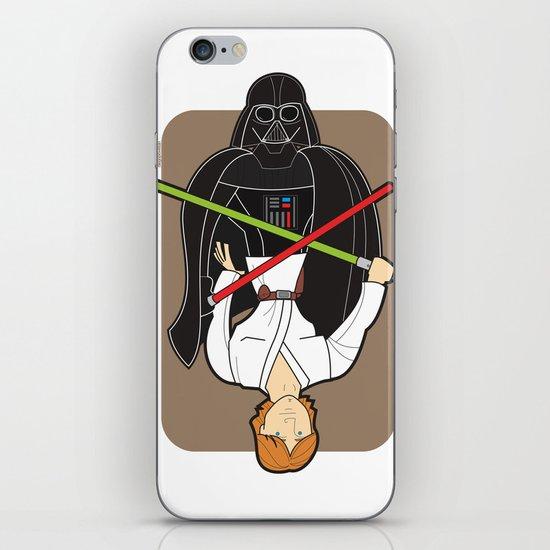 Darth Vader and Luke iPhone & iPod Skin