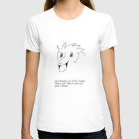 cara T-shirts featuring Cara by unaartistadesconocida