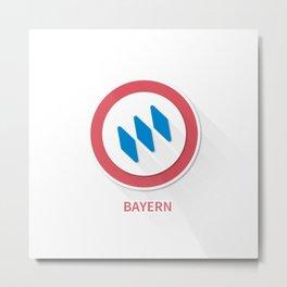 Bayern Munchen FC Metal Print