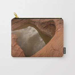 Natural Sandstone Heart - Valley_of_Fire State_Park, NV Carry-All Pouch