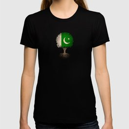 Vintage Tree of Life with Flag of Pakistan T-shirt