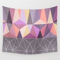 nordic Wall Tapestries featuring Nordic Combination 31 Z by Mareike Böhmer