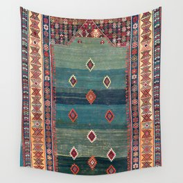 Sivas Antique Turkish Niche Kilim Wall Tapestry