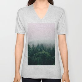Trees by Filip Zrnzevic Unisex V-Neck