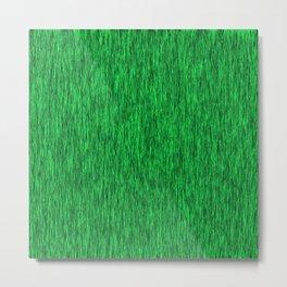 Green Texture Metal Print