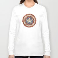 steve rogers Long Sleeve T-shirts featuring Steve Rogers' Garden by Joan-of-here