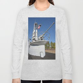 The USS Batfish SS-310 - On Deck at the Conning Tower Long Sleeve T-shirt