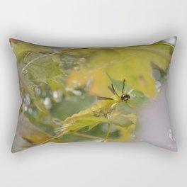 Cute Creeping Caterpillar Rectangular Pillow