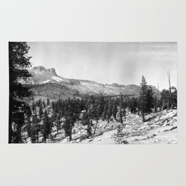 Mount Hoffmann, Yosemite National Park 1907 Rug