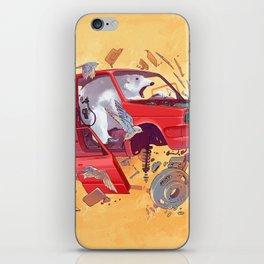 Polar bear unlucky iPhone Skin