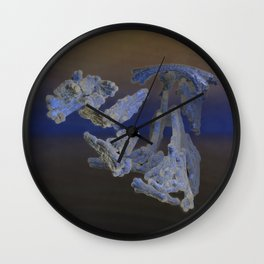Juggling my Hands and Feet Wall Clock