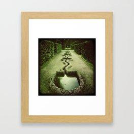 Schlossgarten. iPhonographie Framed Art Print