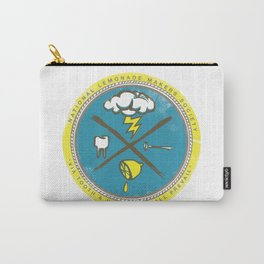 National Lemonade Makers Society Crest Carry-All Pouch