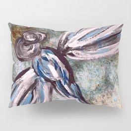 Rustic Dragonfly Art Pillow Sham