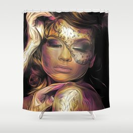 SENSUALLY DISQUISE Shower Curtain