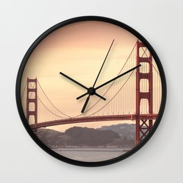 Golden Gate Bridge (San Francisco, CA) Wall Clock