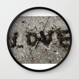 Love Six Wall Clock