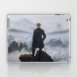 Wanderer above the Sea of Fog Laptop & iPad Skin