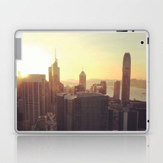 hong kong sundown Laptop & iPad Skin